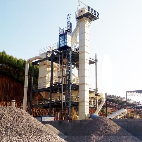 节能环保干法制砂系统